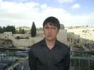 Женька шлет всем привет из Иерусалима