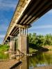 Мост через реку Самара у с. Богатое
