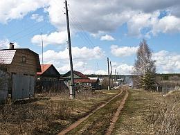 Деревня. Улица...